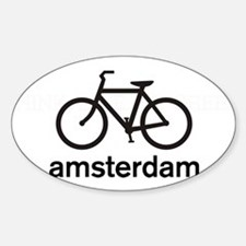 Bike Amsterdam Oval Decal