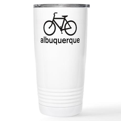 Bike Albuquerque Stainless Steel Travel Mug