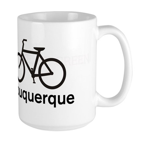 Bike Albuquerque Large Mug