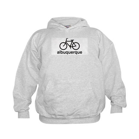 Bike Albuquerque Kids Hoodie