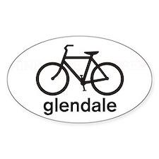 Bike Glendale Oval Decal