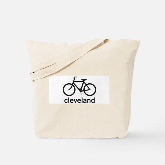 Bike Cleveland Tote Bag