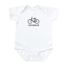 Bike Cleveland Infant Bodysuit