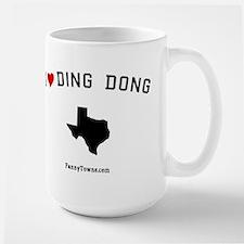Ding Dong (TX) Texas T-shirts Mug