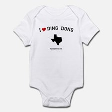 Ding Dong (TX) Texas T-shirts Infant Bodysuit