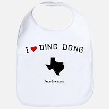 Ding Dong (TX) Texas T-shirts Bib