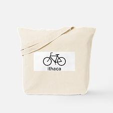 Bike Ithaca Tote Bag