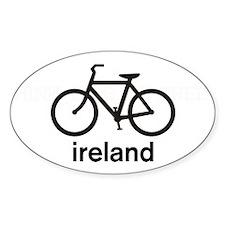 Bike Ireland Oval Sticker (50 pk)