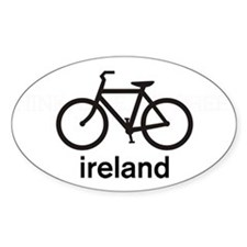 Bike Ireland Oval Decal