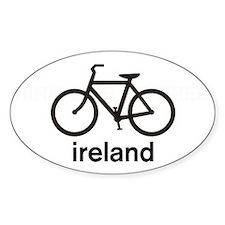 Bike Ireland Oval Decal