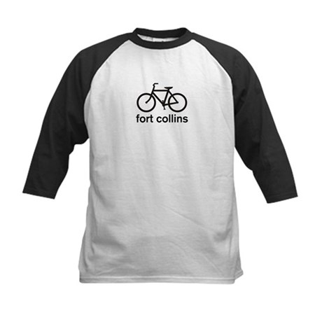 Bike Fort Collins Kids Baseball Jersey