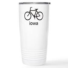 Bike Iowa Travel Mug