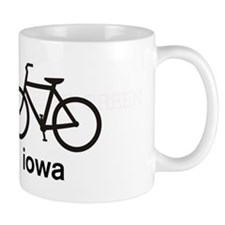 Bike Iowa Small Mug