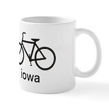Bike Iowa Small Mugs