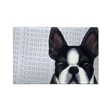 Orig. Boston Terrier Dog Rectangle Magnet