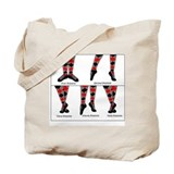Highland dance Totes & Shopping Bags