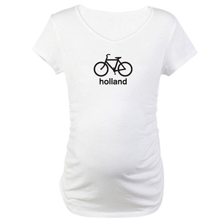 Bike Holland Maternity T-Shirt