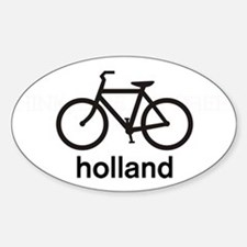 Bike Holland Oval Decal