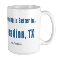 Canadian (TX) Texas T-shirts Mug
