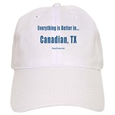 Canadian (TX) Texas T-shirts Baseball Cap
