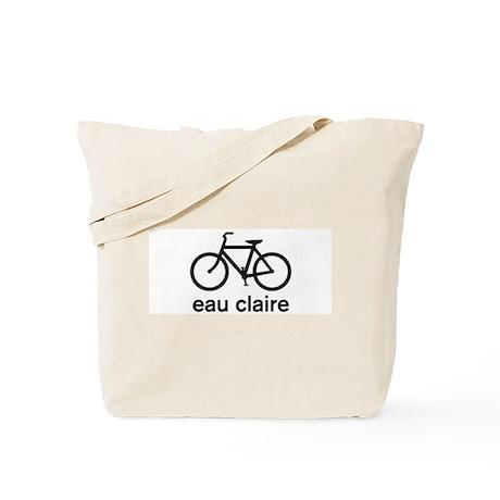 Bike Eau Claire Tote Bag