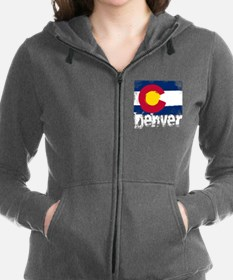 Denver Grunge Flag Sweatshirt