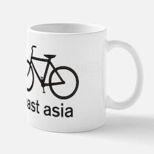 Bike East Asia Small Small Mug