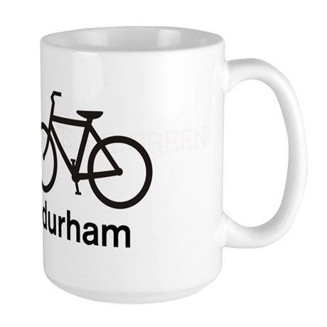 Bike Durham Large Mug
