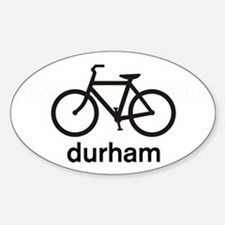 Bike Durham Oval Decal