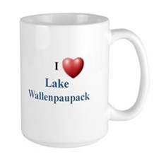I Love Lake Wallenpaupack Mug