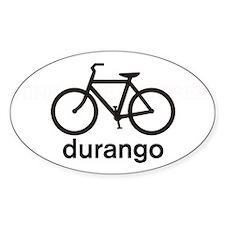 Bike Durango Oval Bumper Stickers