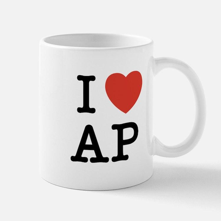 I Heart AP Mug