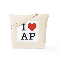 I Heart AP Tote Bag
