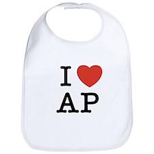 I Heart AP Bib