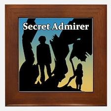 Secret Admirer Framed Tile
