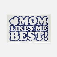 Mom Likes Me Best Rectangle Magnet
