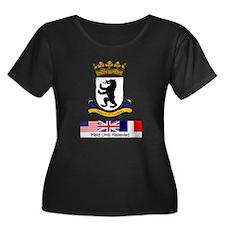 Cold War Berlin Women's Plus Size Dark T-shirt