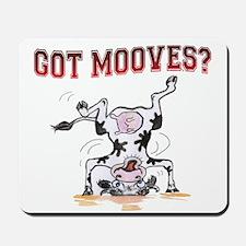 Got mooves? Mousepad
