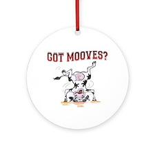 Got mooves? Ornament (Round)