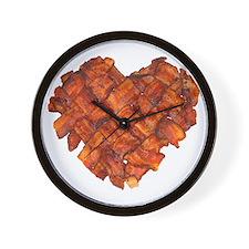 Bacon Heart - Wall Clock