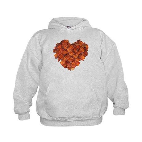 Bacon Heart - Kids Hoodie