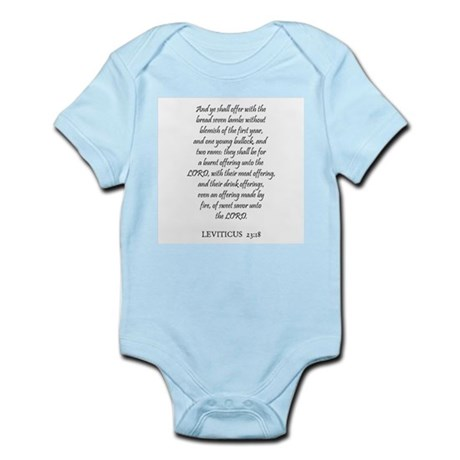 LEVITICUS 23:18 Infant Creeper