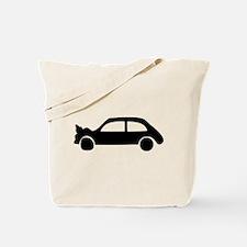 black crash car Tote Bag