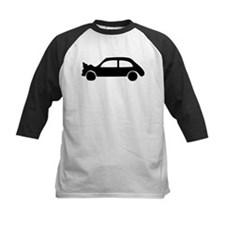 black crash car Tee
