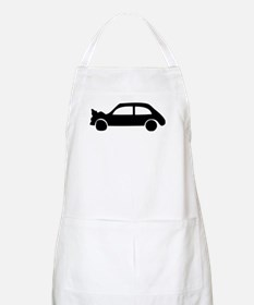 black crash car BBQ Apron