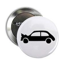 """black crash car 2.25"""" Button"""