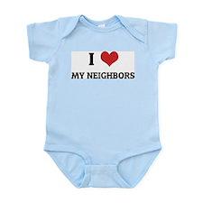 I Love My Neighbors Infant Creeper