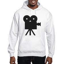 black cine camera hollywood Hoodie