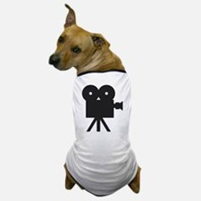 black cine camera hollywood Dog T-Shirt