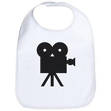 black cine camera hollywood Bib